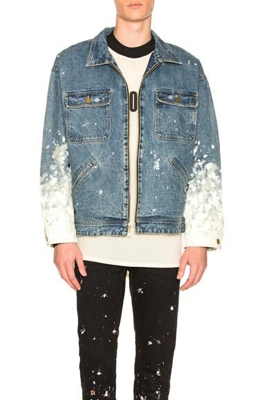 Selvedge Denim Work Jacket