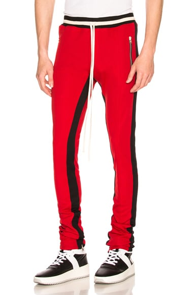 Double Knit Double Stripe Track Pant