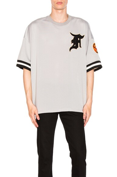 Mesh Away Baseball Jersey