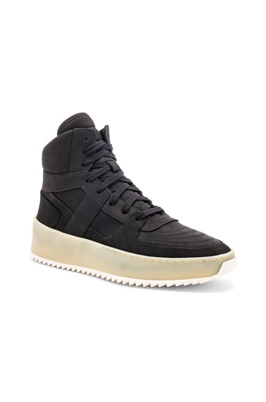 Nubuck Basketball Sneakers