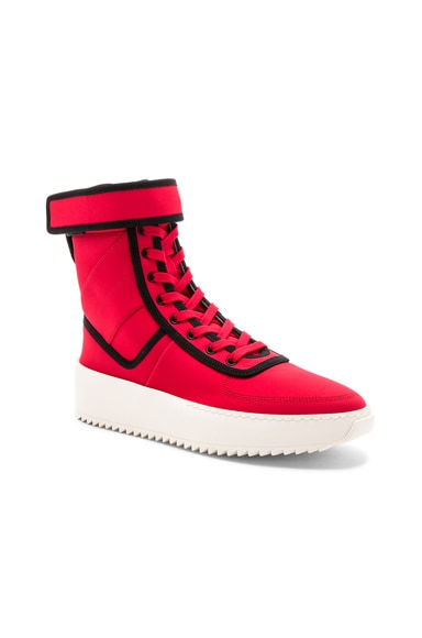 Neoprene Military Sneakers