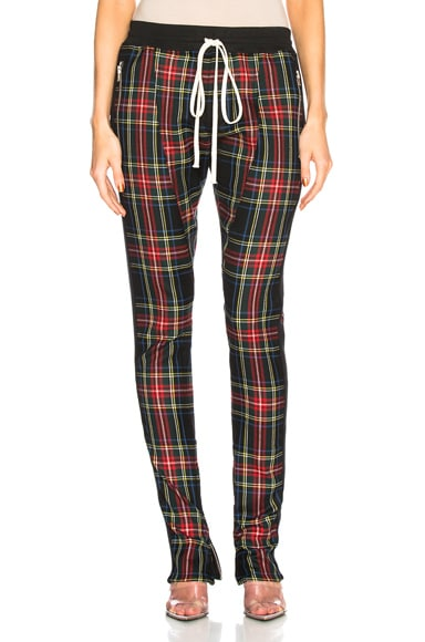 Plaid Trouser Pant