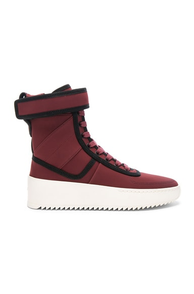 Neoprene Military Sneakers