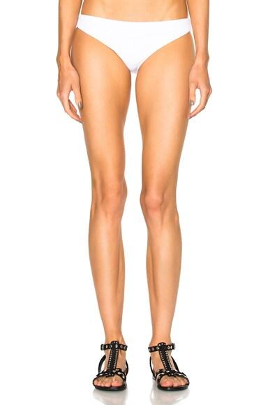 F E L L A River Bikini Bottom in White