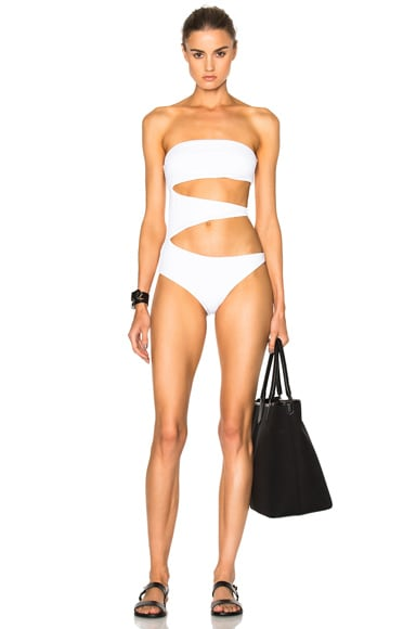 F E L L A George Washington Swimsuit in White