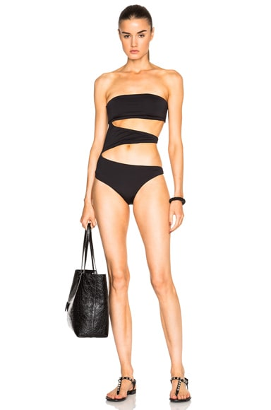 F E L L A George Washington Swimsuit in Black