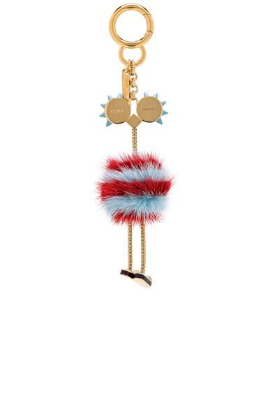Ostrich Bag Charm