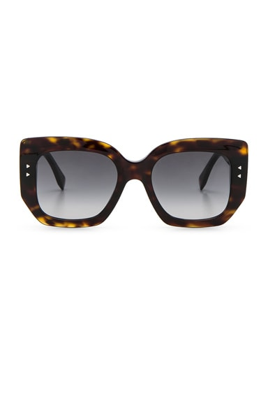 Hideaway Logo Rectangle Sunglasses