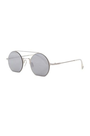 Flat Round Sunglasses