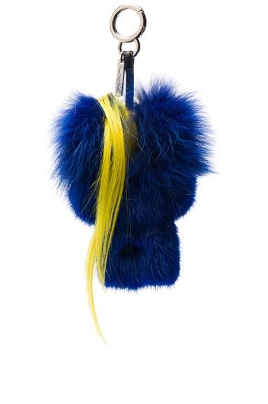Bug-Kun Mink Fur Charm