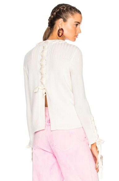Ribbon Detail Sweater
