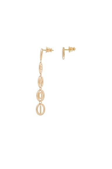 Logo Drop Earrings