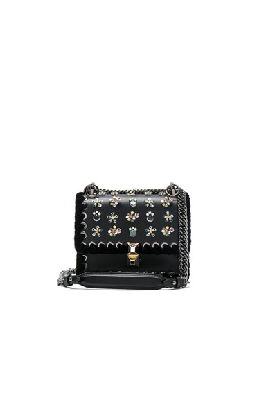 Flower Embellished Small Kan I Bag