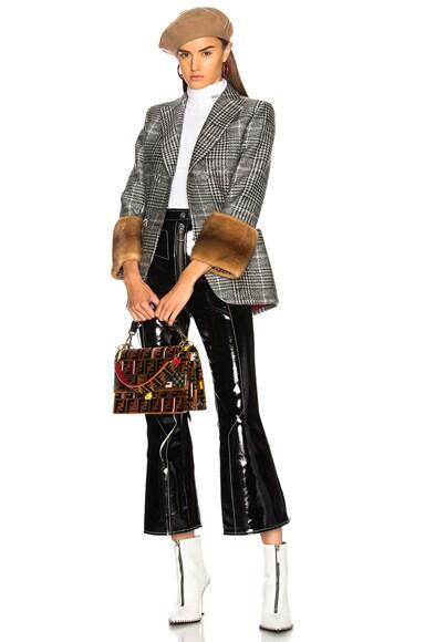 FF Velvet Mini Bag Strap