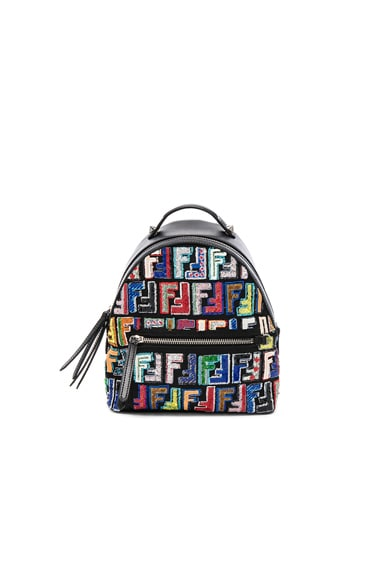 Mini FF Embroidered Backpack