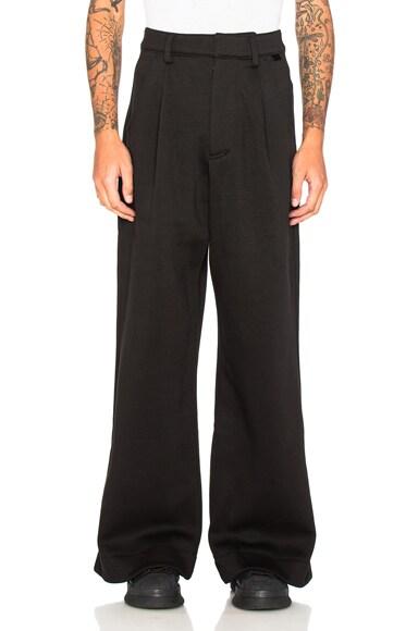 Fenty by Puma Oversized Fleece Trouser in Black