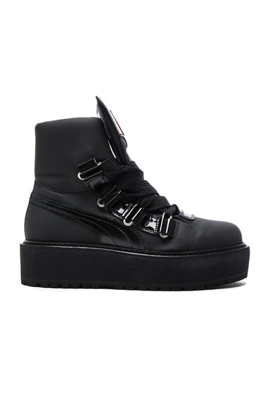 Nubuck Sneaker Boots