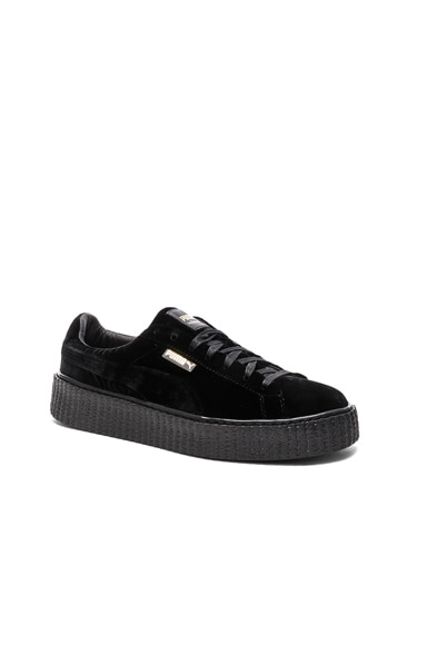 Fenty by Puma Creepers Velvet in Black