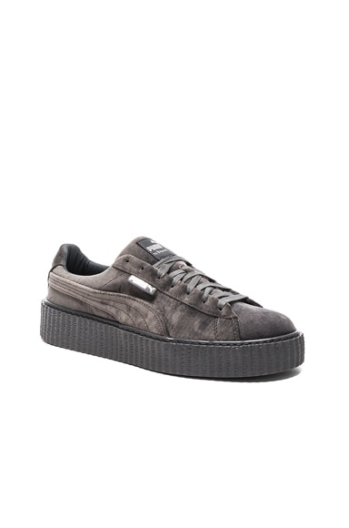 Fenty by Puma Creepers Velvet in Glacier Gray