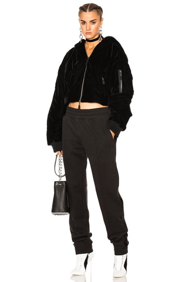 Fenty by Puma Cropped Bomber in Black