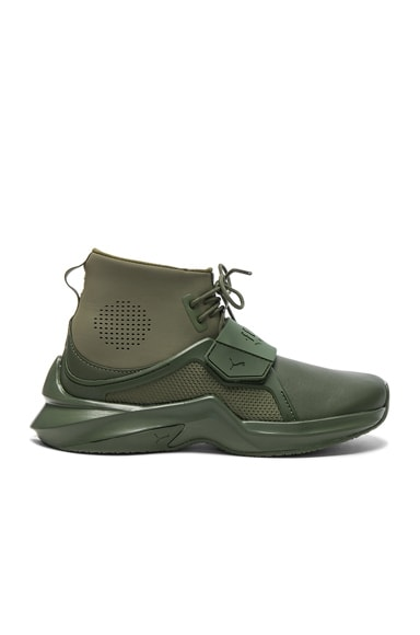 Leather Trainer Sneakers