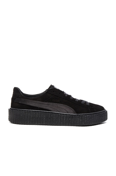 Fenty by Puma Suede Creepers in Black
