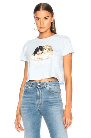 Vintage Angels Cropped Tee