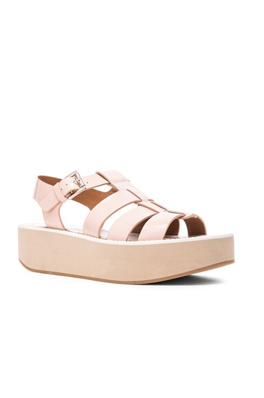 Leather Citrus Sandals