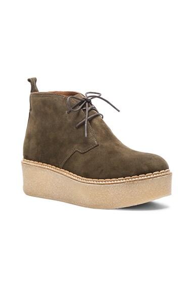 Suede Polk Boots