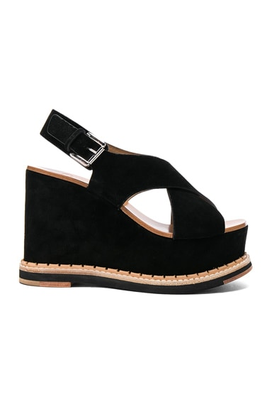 Suede Trendy Wedges
