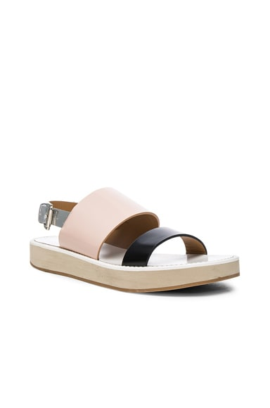 Leather Aqualina Sandals