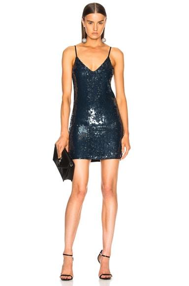 Sequin Mini Slip Dress