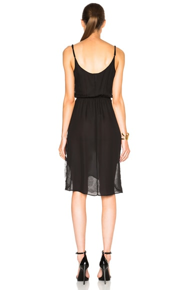 Rose Lace Midi Dress