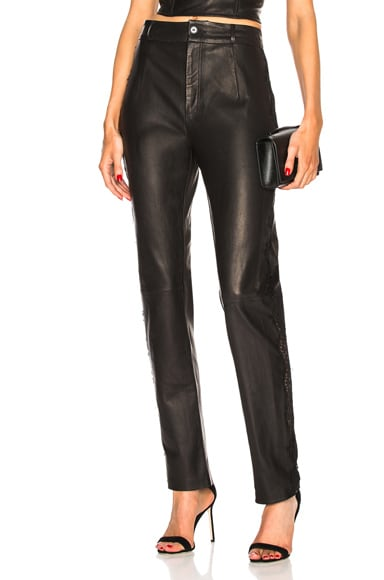Tailored Leather Pant