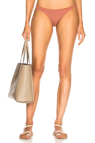 High Leg Bikini Bottom