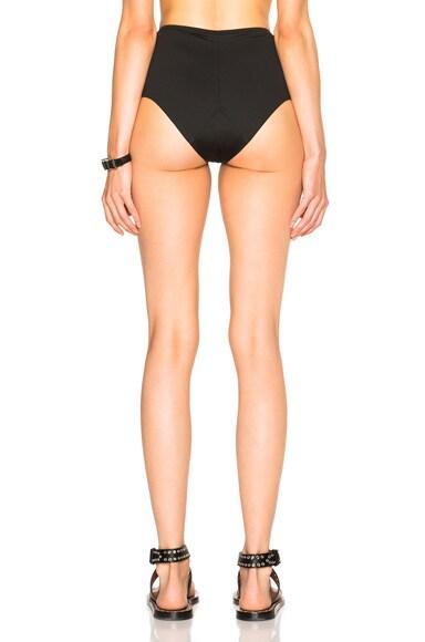 Lacing High Waist Bikini Bottom
