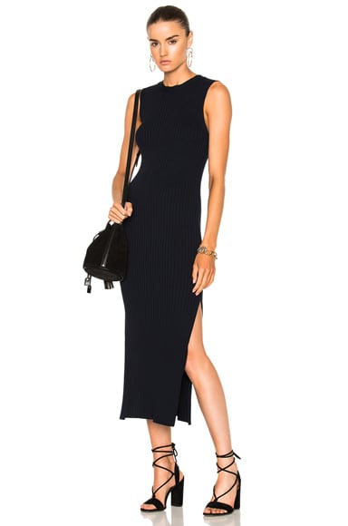 Sleeveless Rib Dress
