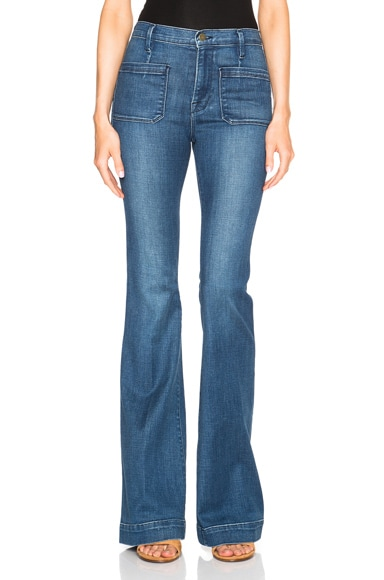FRAME Denim Bardot Flare in Reeves