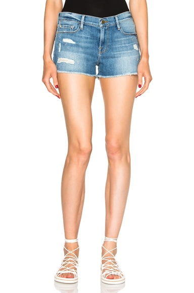 FRAME Denim Cut Off Shorts in Oxnard