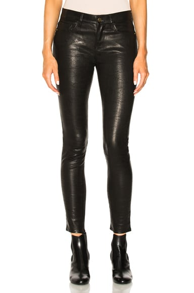 Denim Leather Le Skinny De Jeanne