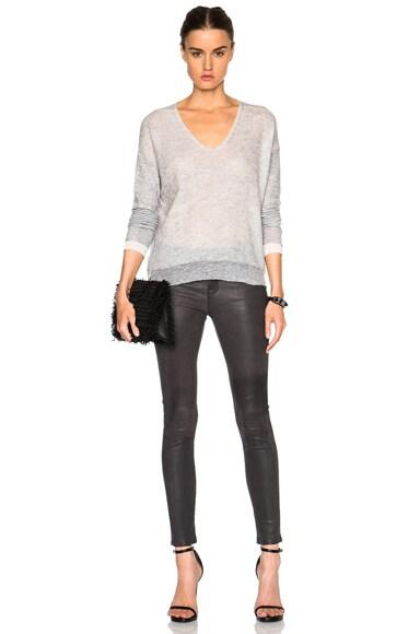 Skinny De Jeanne Leather Pants