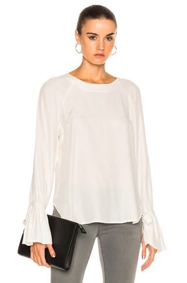 Voluminous Cuff Blouse