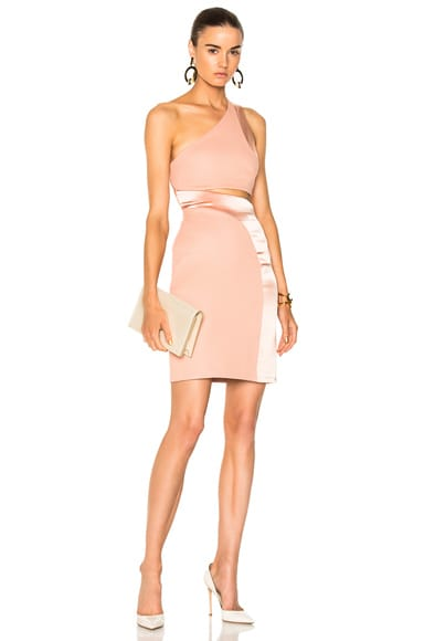 for FWRD Asymmetric Mini Cocktail Dress
