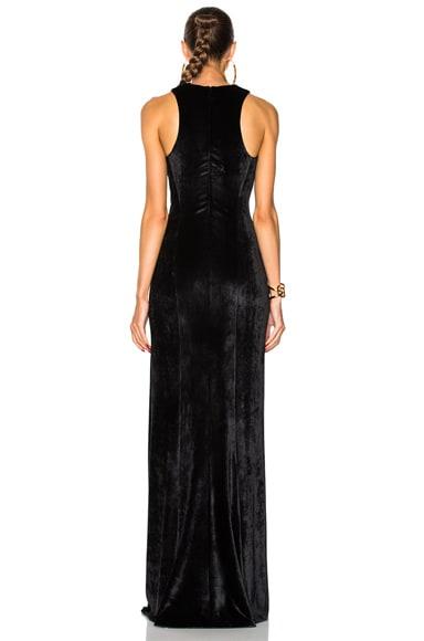Velvet Column Dress