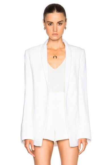 GALVAN Summer Blazer in White