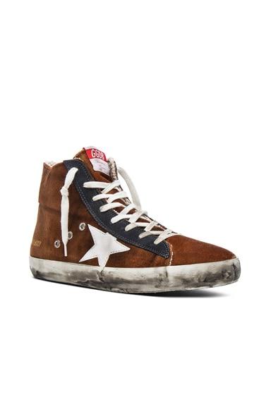 Golden Goose Francy Sneakers in Acid Velvet
