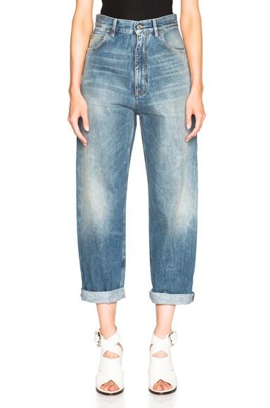Golden Goose Kim Jeans in Light Blue Molo