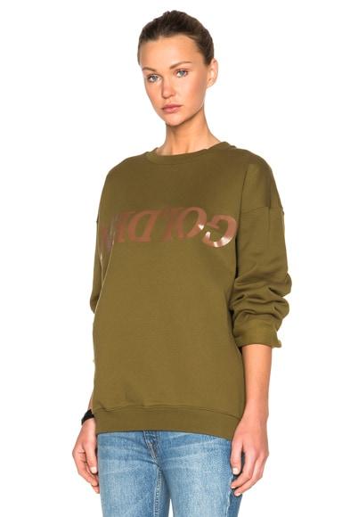 Golden Goose Elise Sweatshirt in Musk
