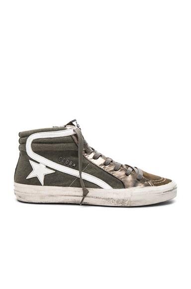 Felt Slide Sneakers
