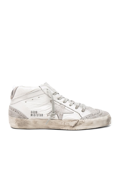 Leather Mid Star Sneakers